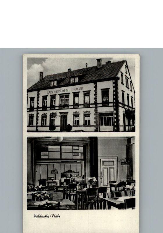 Waldmohr Deutsches Haus Waldmohr Kusel LKR Nr k