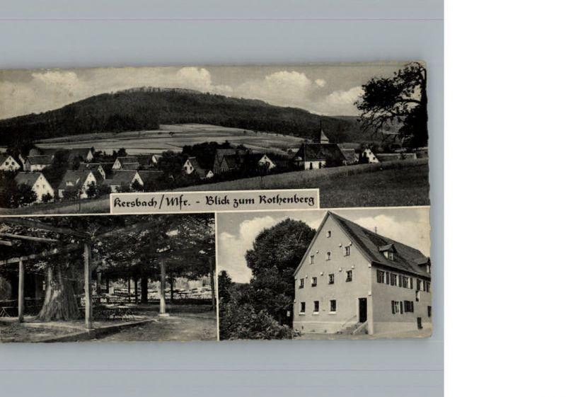 Kersbach Mittelfranken Gasthaus Pension zur Linde / Neunkirchen a.Sand /Nuernberger Land LKR