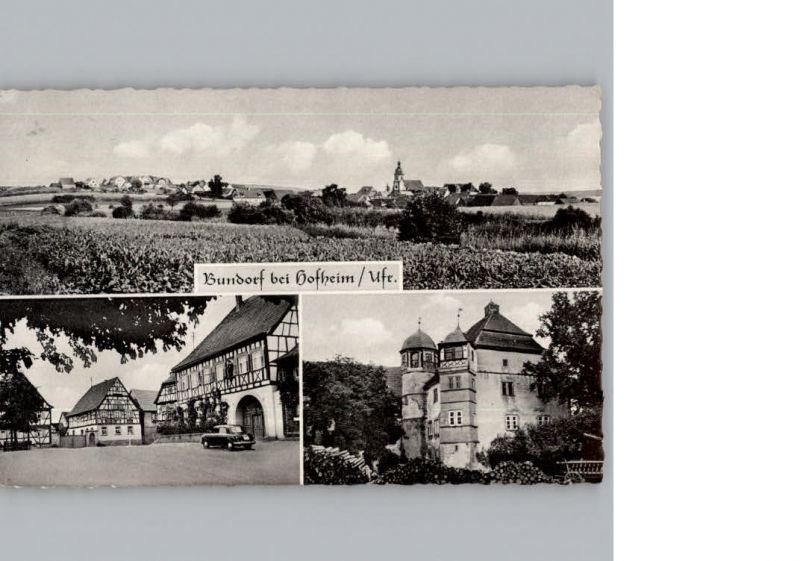 Bundorf Gasthaus Bamberg / Bundorf /Hassberge LKR