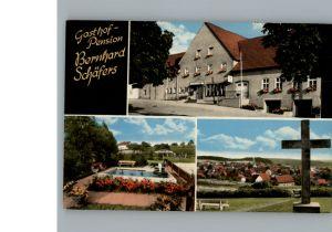 Holtheim Gasthof Pension Bernhard Schaefers / Lichtenau /Paderborn LKR