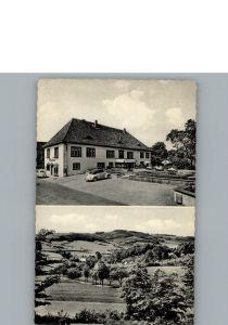 Heidelbeck Gasthaus Pension Korf / Kalletal /Lippe LKR