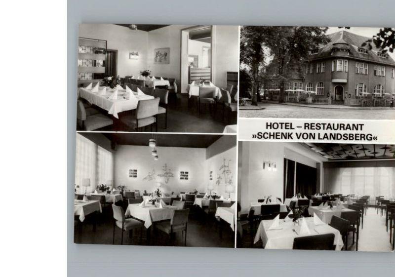 Teupitz Hotel Schenk vom Landsberg / Teupitz /Dahme-Spreewald LKR