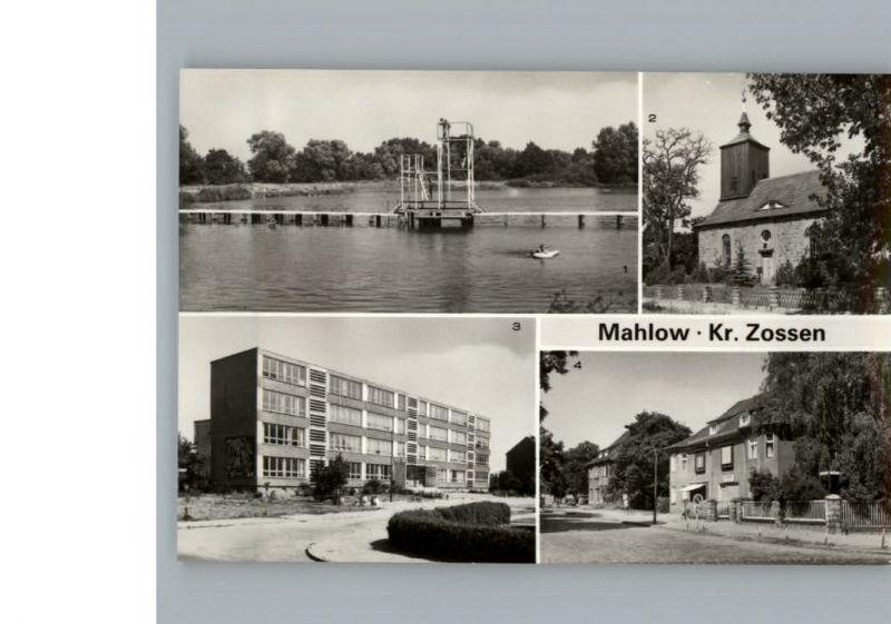 Mahlow  / Blankenfelde-Mahlow /Teltow-Flaeming LKR 0