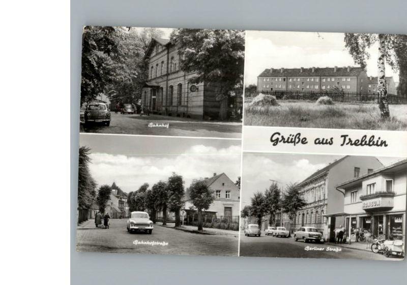 Trebbin Bahnhof / Trebbin /Teltow-Flaeming LKR