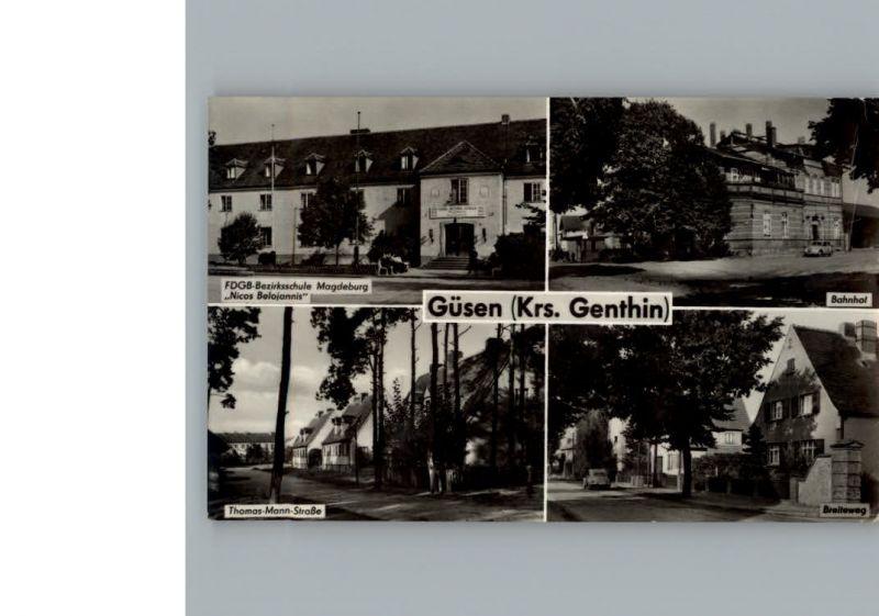 Guesen Bahnhof / Elbe-Parey /Jerichower Land LKR