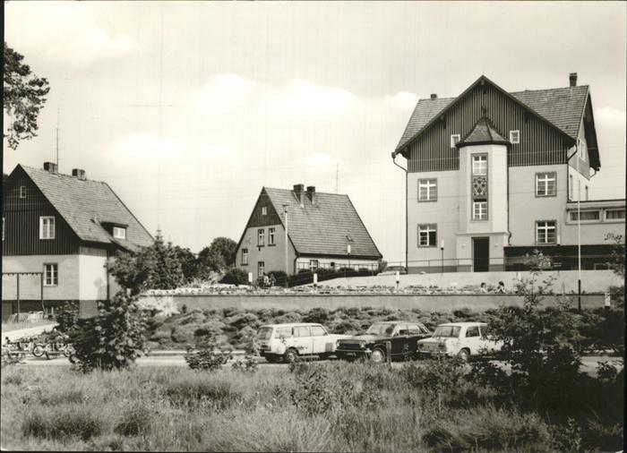 Lychen FDGB Erholungsheim Bertolt Brecht