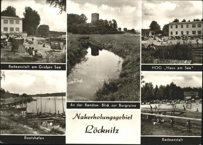 Loecknitz Mecklenburg Vorpommern HOG Haus am See Burgruine