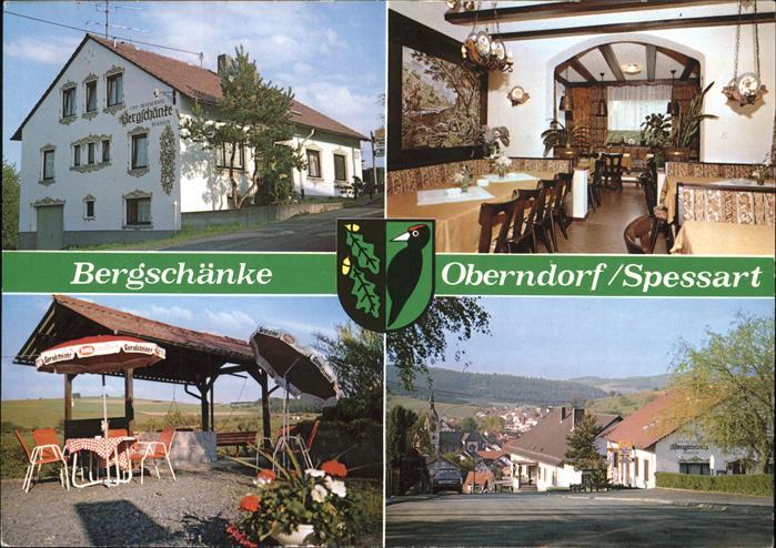 Jossgrund Oberndorf Bergschaenke Kat. Jossgrund Nr. pw00360 ...