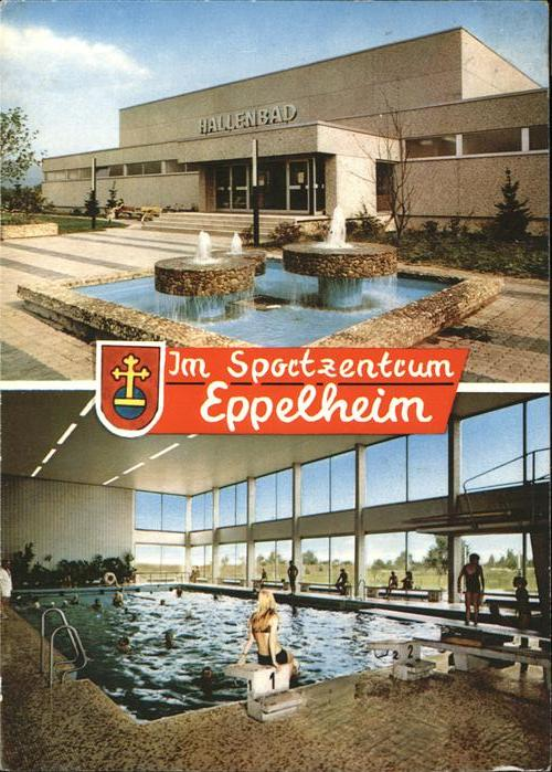 Eppelheim Hallenbad Sportzentrum Wappen / Eppelheim /Heidelberg Stadtkreis