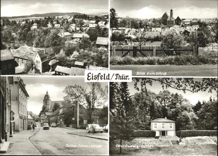 Eisfeld Otto-Ludwig-Garten Julius-Jonas-Strasse Kat. Eisfeld