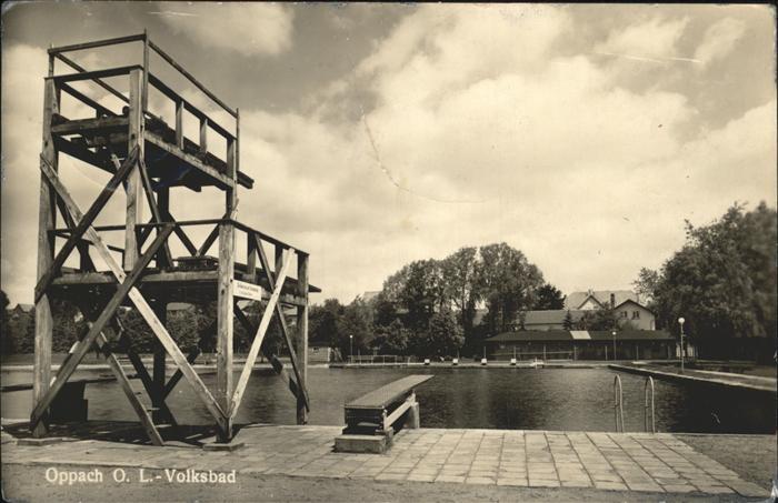 Oppach Volksbad  Kat. Oppach