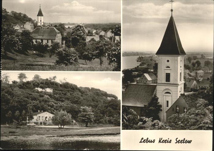 Lebus Kirche Kat. Lebus