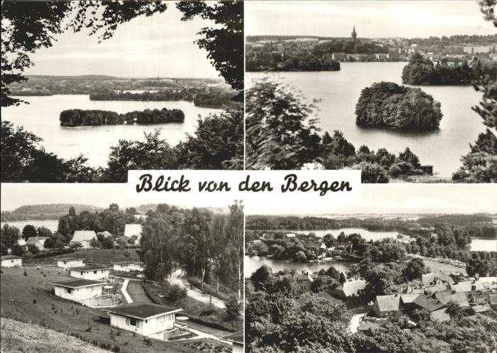 Feldberg Mecklenburg Feldberger Haussee Seenlandschaft Kat. Feldberger Seenlandschaft
