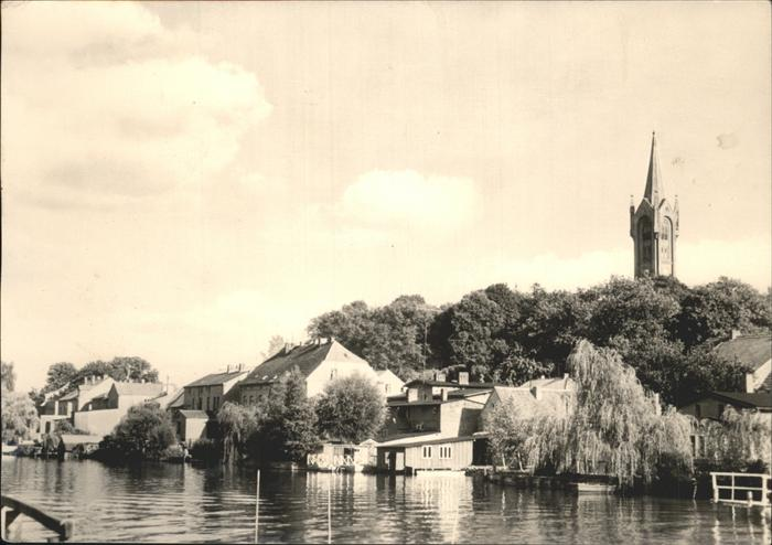 Feldberg Mecklenburg Am Haussee Feldberger Kirche Kat. Feldberger Seenlandschaft