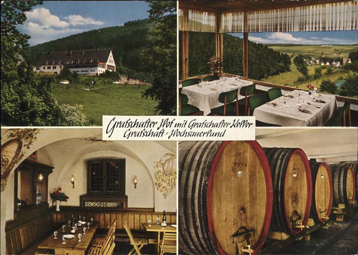 Grafschaft Sauerland Grafschafter Hof mit Grafschafter Keller Kat. Schmallenberg