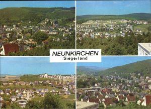 Neunkirchen Siegerland Teilansichten Neunkirchen Kat. Neunkirchen