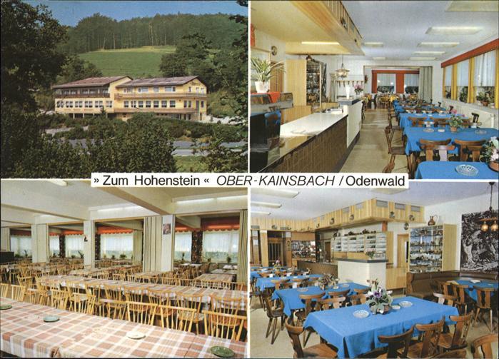 Ober Kainsbach ober kainsbach zum hohenstein reichelsheim odenwald nr