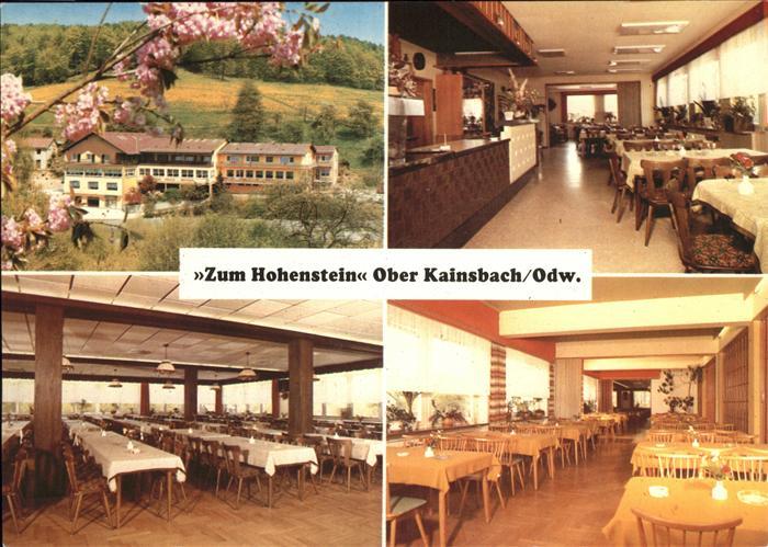 Ober Kainsbach ober kainsbach zum hohenstein gasthaus pension reichelsheim