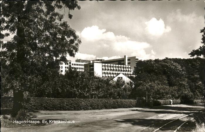 Haspe Hagen Evangelisches Krankenhaus / Hagen /Hagen Stadtkreis