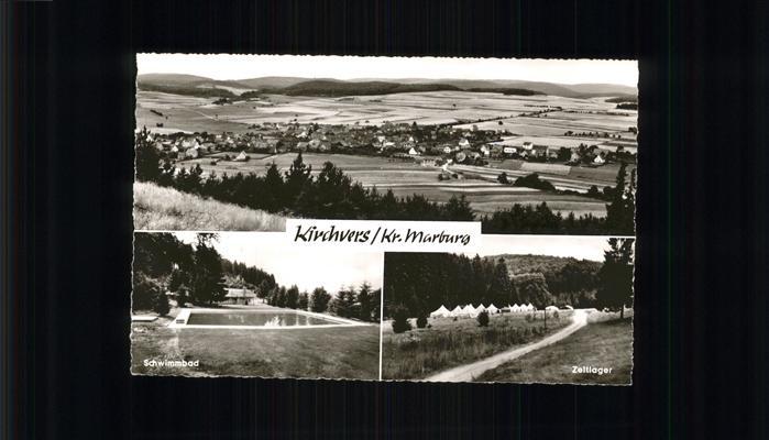 Kirchvers Zeltlager Schwimmbad Kat. Lohra