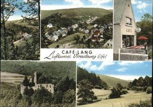 Virneburg Cafe Lang Burg Kat. Virneburg