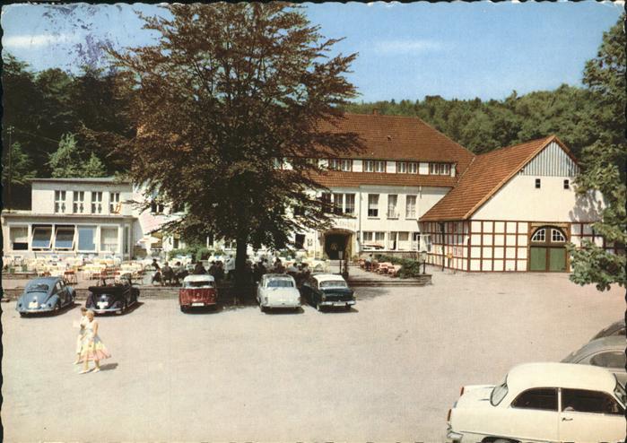 Steinhagen Berghotel Quellental Kat. Steinhagen
