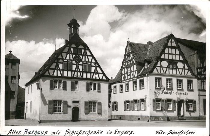 Engers Rathaus Schlossschenke Kat. Neuwied