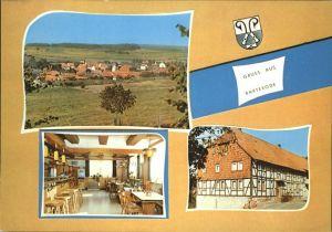 Barterode Gasthaus Zum alten Krug Kat. Adelebsen