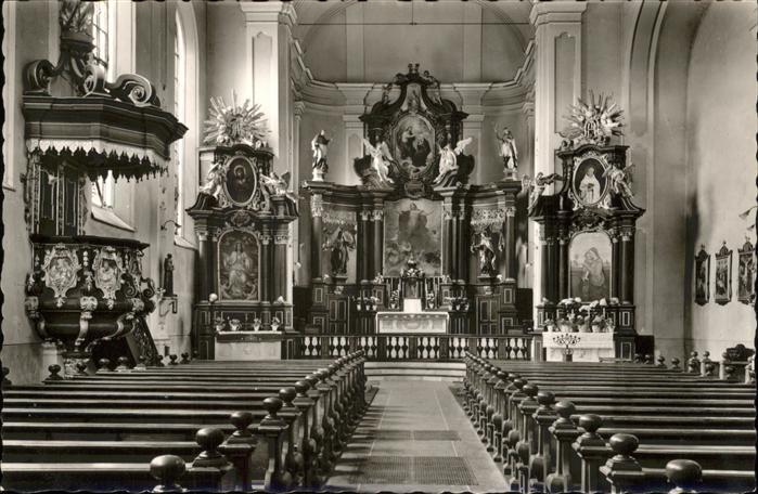 5040 br hl pingsdorf kath kirche innenansicht nr for Hachenburg versand