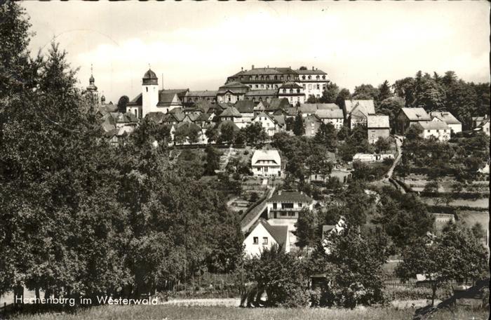 38620 Ak Lithografie Gruss Aus Hachenburg Schloss