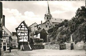 Kettwig Alt Kettwig Fachwerkhaus Kirche Kat. Essen