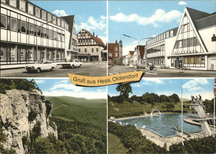 Hessisch Oldendorf Teilansichten Oldendorf Freibad  Kat. Hessisch Oldendorf