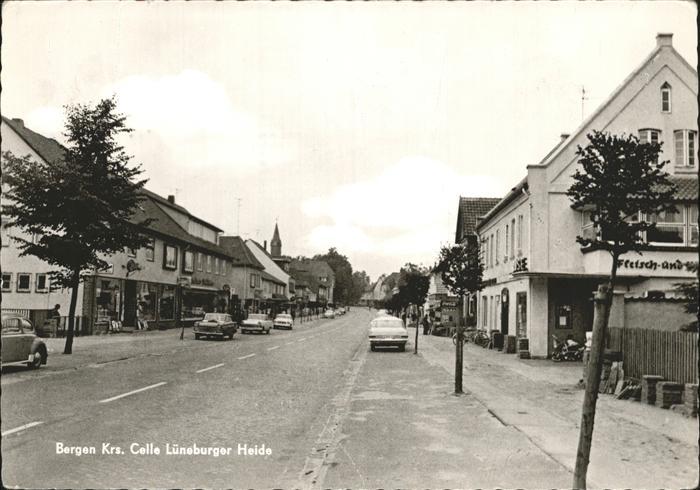 Bergen Celle Teilansicht Bergen Kat. Bergen