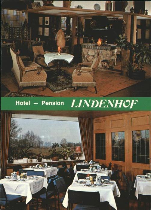 Bad Laer Hotel Pension Cafe Lindenhof Kat. Bad Laer
