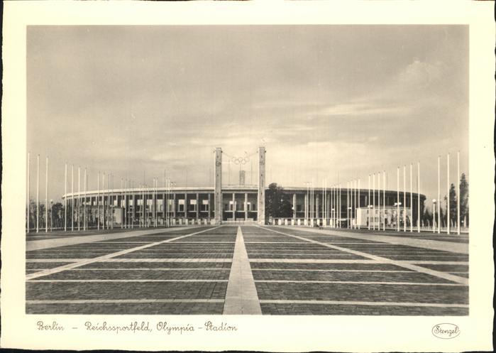 Berlin Reichssportfeld Olympia Stadion Kat. Berlin