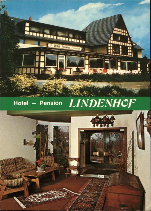 Bad Laer Hotel Pension Lindenhof Iinnen aussen Kat. Bad Laer