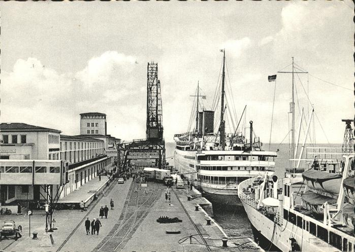 Bremerhaven MS Berlin Kat. Bremerhaven