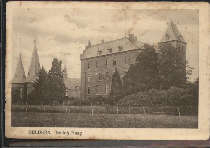 Geldern Schloss Haag / Geldern /Kleve LKR