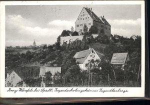 Spalt Burg Wernfels Jugenderholungsheim Jugendherberge / Spalt /Roth LKR