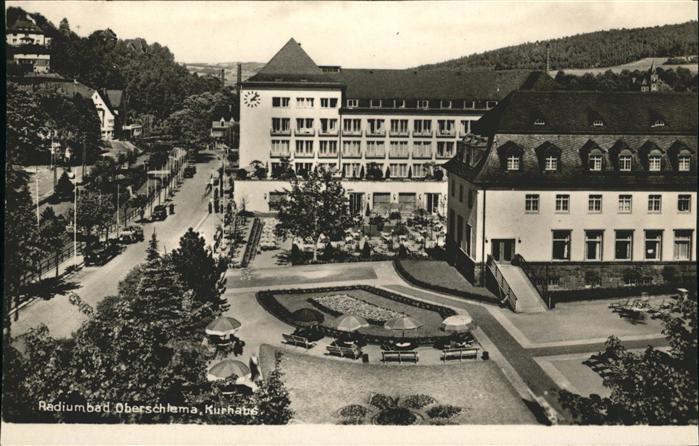 Oberschlema Radiumbad Kurhaus  /  /
