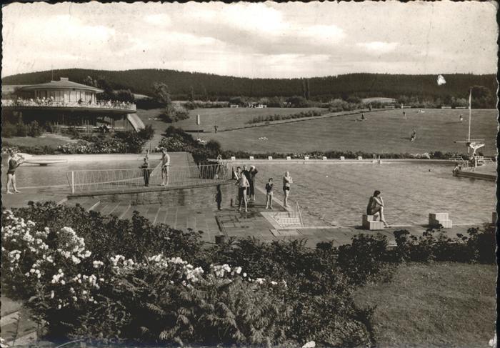 Heringen Werra Schwimmbad Steinberg / Heringen (Werra) /Hersfeld-Rotenburg LKR