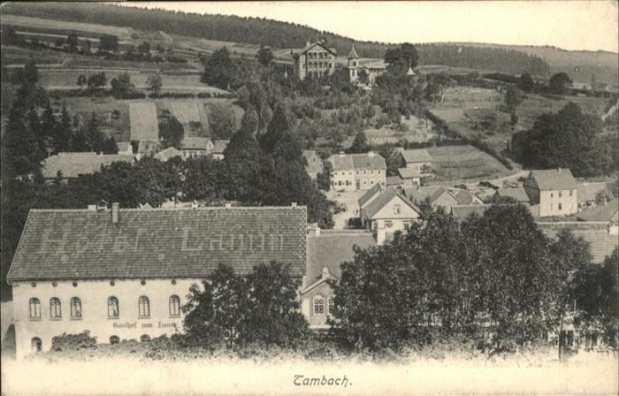 Tambach-Dietharz  / Tambach-Dietharz /Gotha LKR