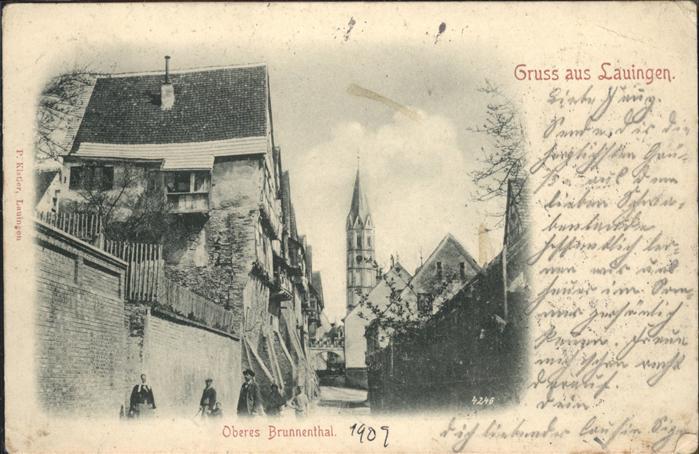 Lauingen Donau Oberes Brunnenthal