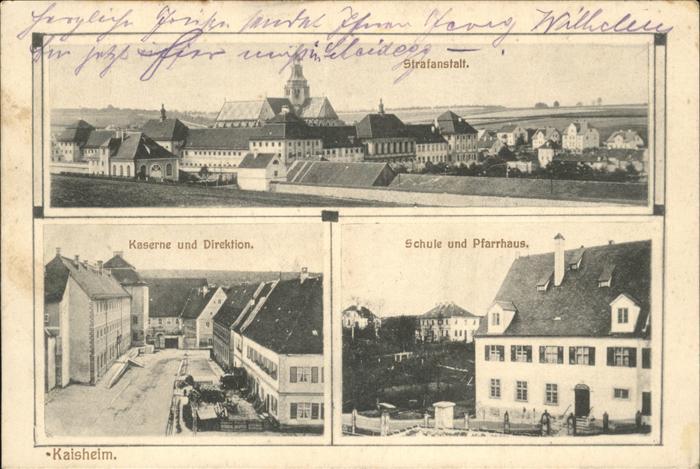 Kaisheim Schule Pfarrhaus Kaserne Strafanstalt