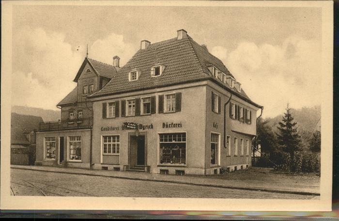 Hedelfingen Cafe Conditorei W Wyrich