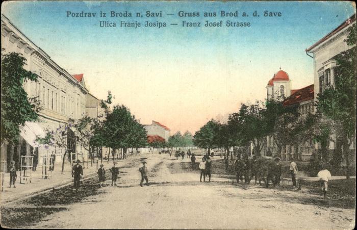 Slavonski Brod Franz Josef Strasse  / Slavonski Brod /