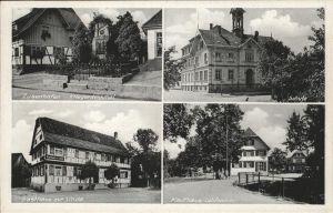 Zusenhofen Kriegerdenkmal Schule Gasthaus Linde Kat. Oberkirch