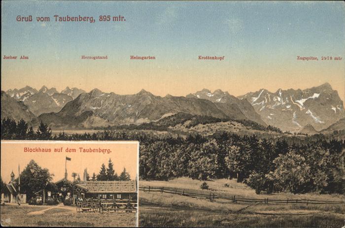 Taubenberg Blockhaus Kat. Bodolz