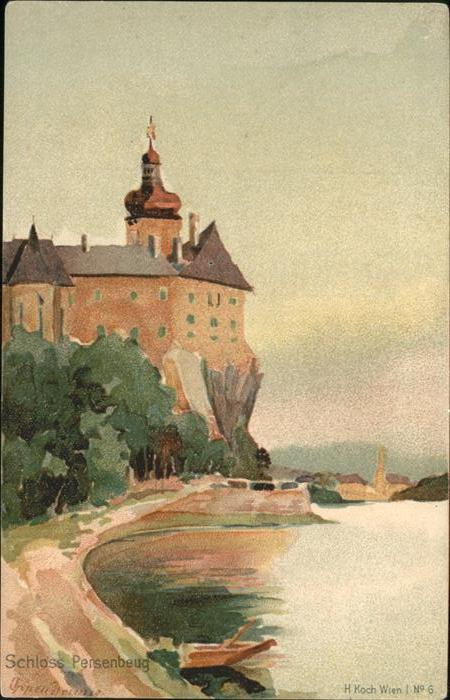Persenbeug-Gottsdorf Schloss Kuenstler H Koch / Persenbeug-Gottsdorf /Mostviertel-Eisenwurzen