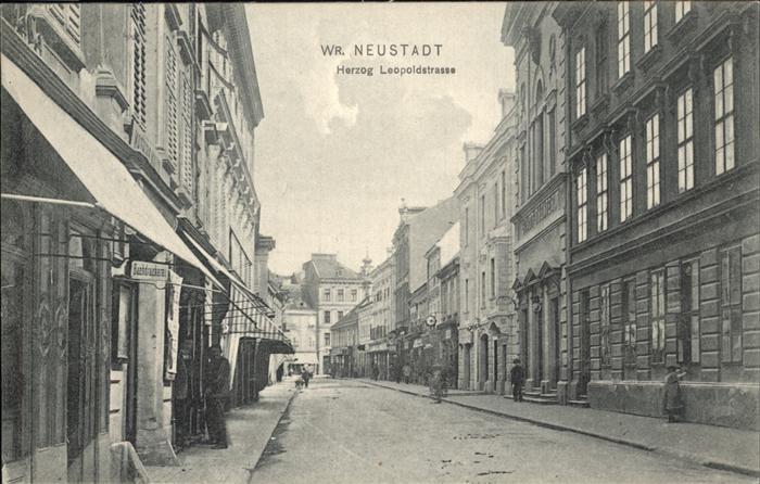Neustadtl Donau Herzog Leopoldstrasse Kat. Neustadtl an der Donau